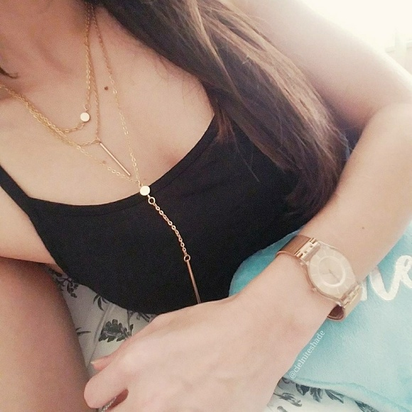 Sip N' Sparkle Jewelry - Layered Gold Necklace